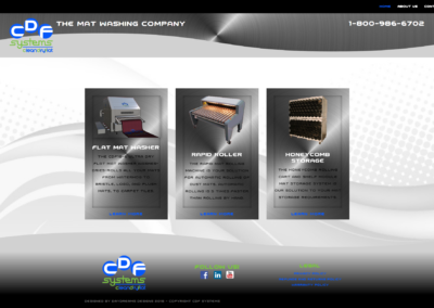 CDF Systems landing page